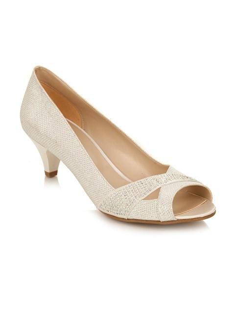 Tanca Topuklu Ayakkabı Beyaz